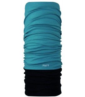 Matt Polartec Scarf Turquoise