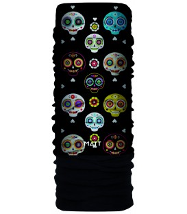 Matt Polartec Scarf Kids Awesome Skull