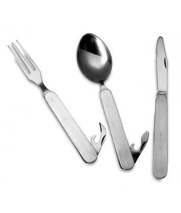 Lifeventure Folding Cutlery Set