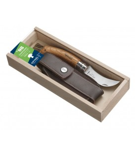 Opinel ąžuolinis peilis grybavimui su dėklu