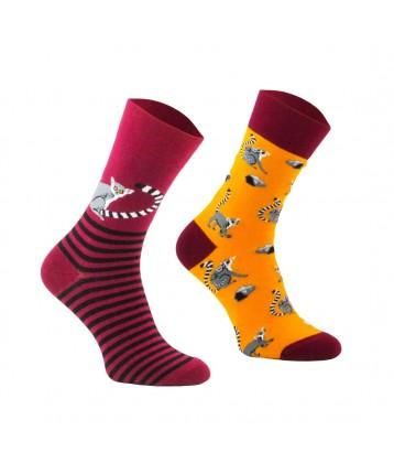Comodo funny socks Lemur